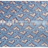High quality beautiful of the latest design trimming/raschel lace fabric