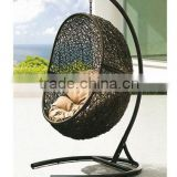 Removable indoor rattan swing egg chair outdoor furniture from UGO factory