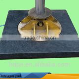 UV-resistant outrigger pads/ OEM hdpe sheet for crane floor protection