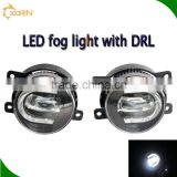 2016 new Super vision fog light lamp with DRL toyota corolla fog lamp swift led fog lamp
