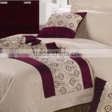 hot sale designs High quality hotel 100% brushed soft polyester fabric for bed sheets sets