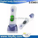 4 in 1 multi function thermometer baby bath water thermometer