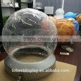 Customize large clear plastic ball, clear plastic ball container, clear plastic hollow balls
