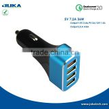 quick charger OEM/ODM 2016 newest 2.4A car charger with qualcomm quick charge 2.0 technology