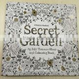 2015 best selling popular adult colouring book secret garden/enchanted forest/lost ocean