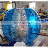 2016 hot sale PVC or TPU bubble soccer, inflatable bumper ball for sale, bumper body ball