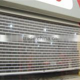Automatic PVC roll down window shutters/full view pespective roller shutters
