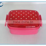 lunch box custom plastic lunch box double wall lunch box insulation materials for lunch box