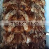 2016 new China Natural color raccoon fur wholesale real fur skin pelt or dressed raccoon plate