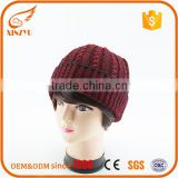 Street fashion hand knitted woolen caps slouch beanie hat customized                                                                                                         Supplier's Choice