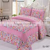 Patchwork Embroidery Flat Bed Sheet Manufacturer Hot Sale