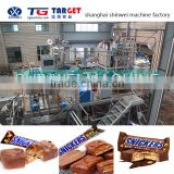 COB600 Multiple Protein Bar/cereal bar/snicker bar/candy bar/chocolate bar production line with chocolate enrobing machine line