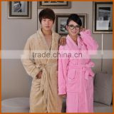 Hot-Selling Solid Color Knitted Bathrobe For Women