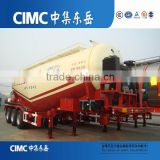 CIMC 3-Axle V-Shape Bulk Cement Tank Trailer Use Quality Diesel Engine