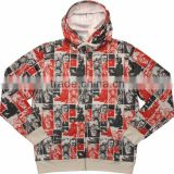 custom fleeced sublimation beautiful thick sweater/winter sweatshirt hoodies thick men at MEGA