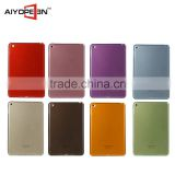 Wholesale Colorful Clear Transparent TPU Ultra Thin Slim Shell Case Back Cover for iPad Mini 4