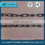 Well Made And Advanced Din5686 Standard Weldless Stainless Steel Double Loop Knotted Chain