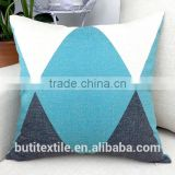 Modern Linen/Cotton sofa chair cushion Throw geometrical pattern Decorative printed cushion cover