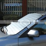 EPE alumiumn film car sun shade,novelty foldable windshield sunshade at factory price