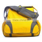 Yellow polyester mummy baby diaper changing bags for girls