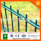 TUV certificate factory powder coated double wire welded mesh fence panel for Germany market