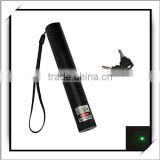 Cheap! 100mW 532nm Flashlight Style Green Laser Pointer Black