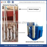 Ammonia Cracker Retort with Nickel catalyst