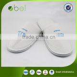 good quality hotel slippers with black pu
