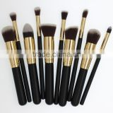 Four colors low price makeup brushes business activity gift friend's birthday present