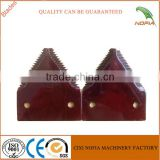 Grain harvester/tractor spare parts cutting blade cutter for Hangzhou John Deere/New Holand