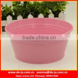 Pink Large Top Flower Pot Tray
