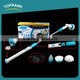 Toprank New Hot Selling Turbo Scrub 360 Cordless Tile Scrubber Cleaning Brush Electric Spin Scrubber Brush With Cleaning Kit