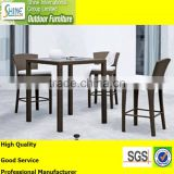 Outdoor Furniture Garden Furniture Patio Furniture Rattan Wicker Stool And Table For Bar Shop, Hotel, Club