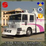 Two electric Cannon 6X4 II chassis Anti Riot Water Cannon Vehicle Truck