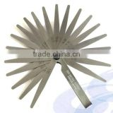 25PC High carbon steel Metric Taper Feeler Gauge