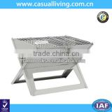 Outdoor Portable Stainless Steel Barbecue Grill Metal BBQ Grills