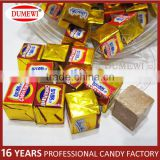 Wholesale Manufacturer Chocolate Cube Pressed Candy