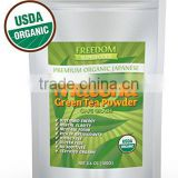 Private Label Usda Certified Organic Food Additives Green Tea Extract Powder Matcha tea For weight Loss