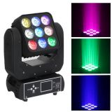 Professional 9*12W RGBW Mini LED Moving Head Martrix Light Use for Evento