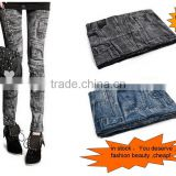 fashion cheap China Clothes stock women fashion cheap leggings Jeans