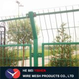 Railway frame folding guardrail