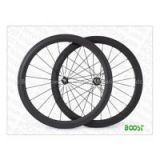 Touring bike wheels 50mm Clincher Carbon Road Bicycle Wheels 25mm Wide U Shape Wheelsets