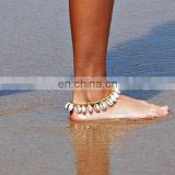 Boho Natural Conch Shell Barefoot Sandals Beach Wear Ankle Bracelet Chain Anklet
