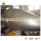 Cheap 11.5ft - 23ft Long airship advertising balloon / hydrogen balloon with 5 different color