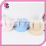 Hot selling cute baby caps baby cotton peaked hats