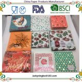 Paper Napkins Serviettes Printing Flowers Butterfly for Wedding, Dinner and Party