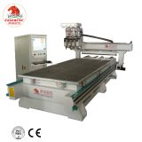 cnc wood automatic router with four heads