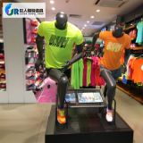 Window Display Sports Muscle Running Female Fiberglass Mannequin