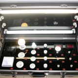 Led Par Flight Case  With Butterfly Lock Silver / Black / Blue Color