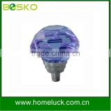 Provide crystal pull handles for doors blue knobs